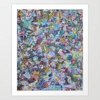 Ode to P.bear Art Print