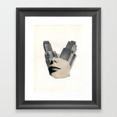 Blank City Framed Art Print