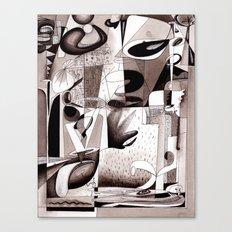 Tangents Canvas Print