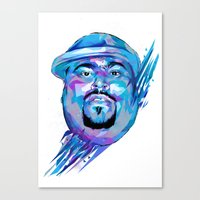 Big Pun : Dead Rappers Serie Canvas Print