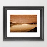 Reservoir Framed Art Print