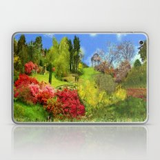 Spring Painting Oil Laptop & iPad Skin