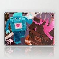 Dance, Lovebot! Dance! Laptop & iPad Skin