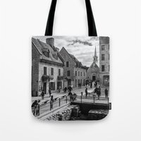 Old Quebec City Tote Bag