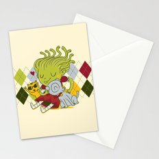 Medusa had a pet rock. Stationery Cards