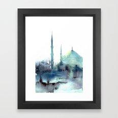 Sultan Ahmet Istanbul Framed Art Print