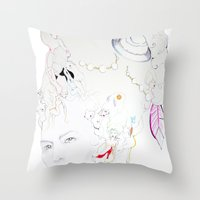 Marie Antoniette Throw Pillow