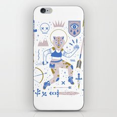 The Warrior iPhone & iPod Skin