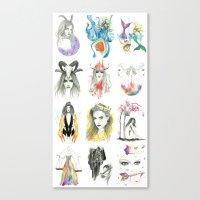 Zodiac collection Canvas Print