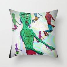 ¨Zombillurca¨ Throw Pillow