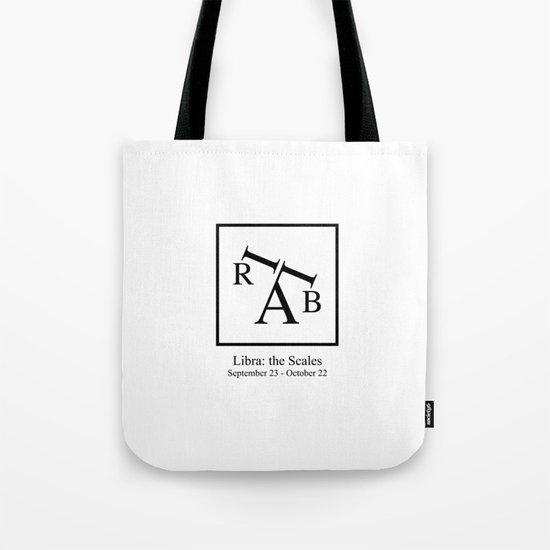 Libra: the Scales Tote Bag