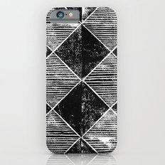 Chequers I Black Slim Case iPhone 6s