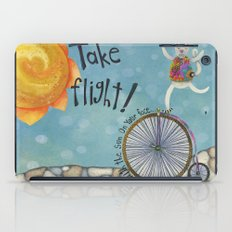Take Flight With The Sun On Your Face iPad Case