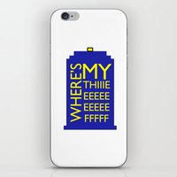 The Wife Of The Doctor iPhone & iPod Skin