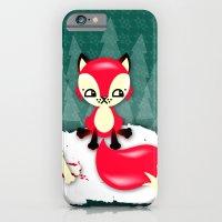 Fox's Christmas Dinner iPhone 6 Slim Case