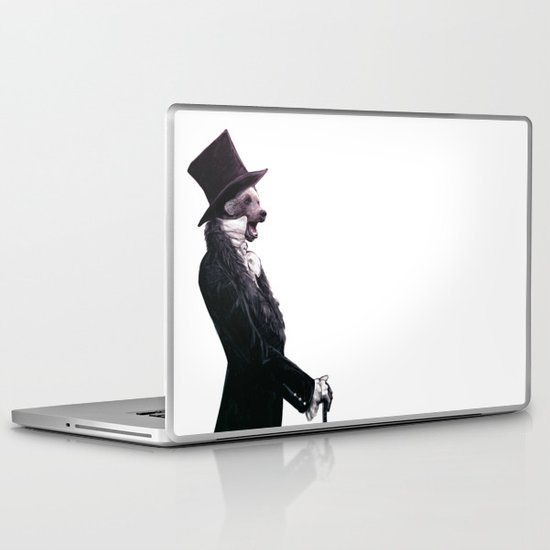 Unbearable gentleman Laptop & iPad Skin