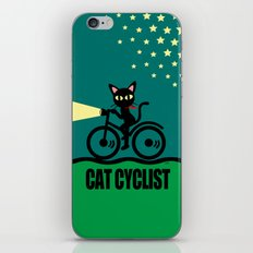 Cat Cyclist iPhone & iPod Skin