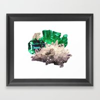Crystal Visions Framed Art Print