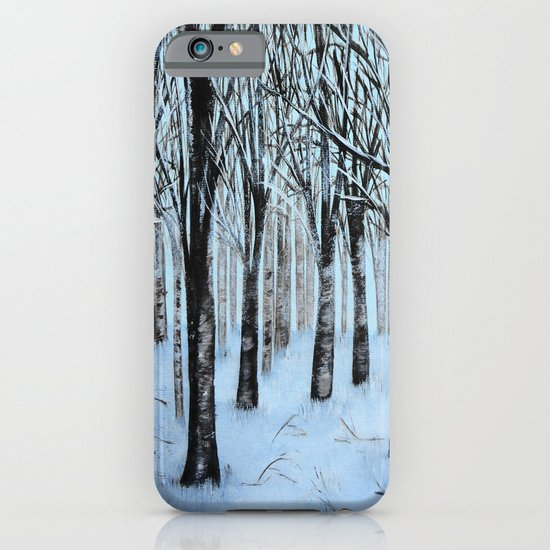 Winter Forest  iPhone & iPod Case