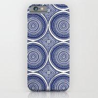 Paisley Blues iPhone 6 Slim Case