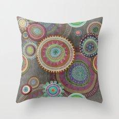 Happy : D Throw Pillow