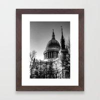 St Pauls, London Framed Art Print