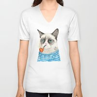 Sailor Cat I Unisex V-Neck