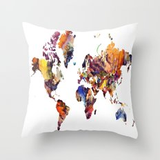 LCN's World Throw Pillow