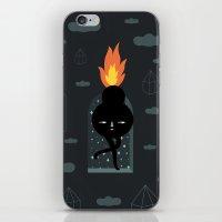 Mimu & The Fireboy iPhone & iPod Skin