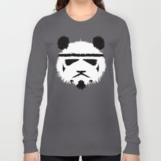 Panda Trooper Long Sleeve T-shirt