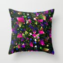 Birthday Party - pattern Throw Pillow