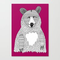 This Bear Canvas Print