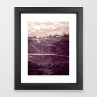 Olden Days Memories Of T… Framed Art Print