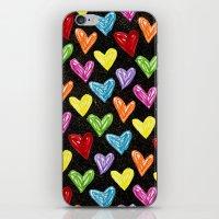 Midnight Love iPhone & iPod Skin