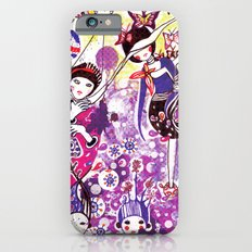 The case of purple spot sickness iPhone 6 Slim Case