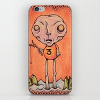 Number Three iPhone & iPod Skin