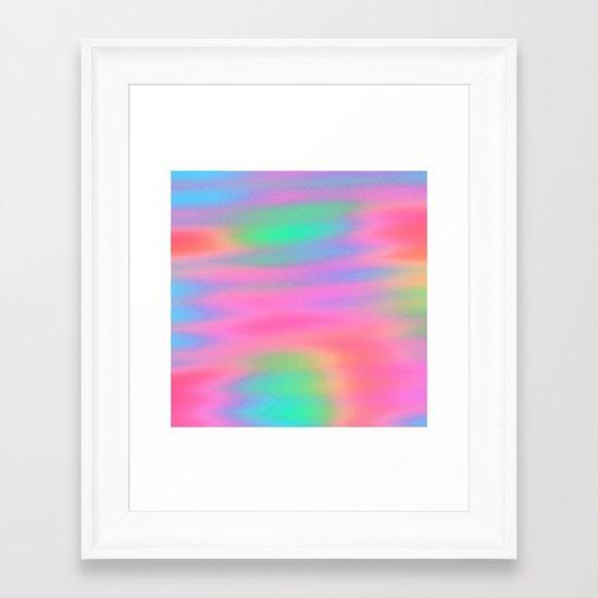Oh So Pretty! Framed Art Print