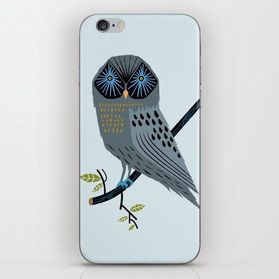 The Perching Owl iPhone & iPod Skin