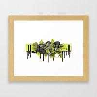 3D GRAFFITI - ESCAPE Framed Art Print