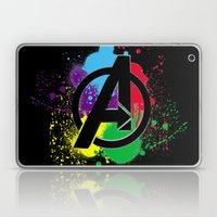 Avenge paint Laptop & iPad Skin