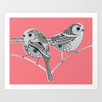 Two Birds Art Print