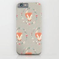 Baby Fox Pattern 02 iPhone 6 Slim Case