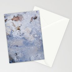 frozen lakes II Stationery Cards