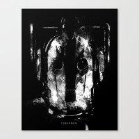 Cybermen Canvas Print