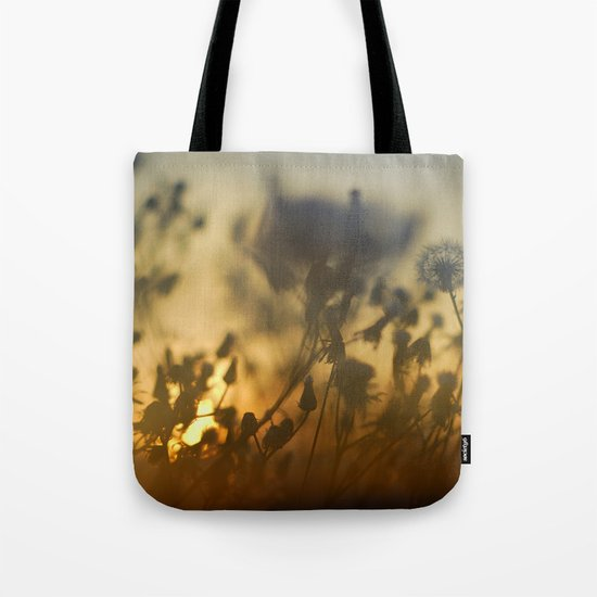 The fire of the sun Tote Bag
