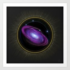 Space Travel - Painting Art Print