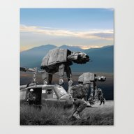 War Stars Canvas Print