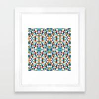 Geometric #2 Framed Art Print