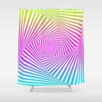 Summer Twista 3 Shower Curtain