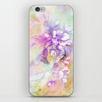 APPLE BLOSSOM PASTEL iPhone & iPod Skin